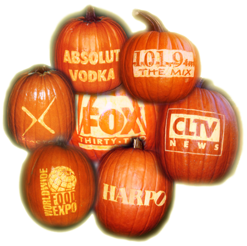 Custom Carved Real Pumpkins We Ship to lower 48